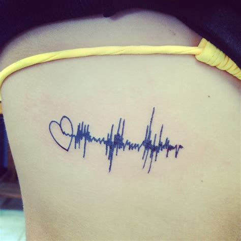 sound wave tattoo best 25 sound wave ideas on waves