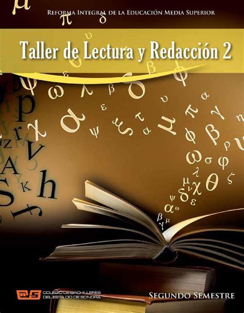 taller de lectura y redacci n taller de lectura y redacci 243 n 2