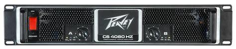 Peavey Cs 4080 Power Lifier lifiers processors peavey cs 4080hz power lifier