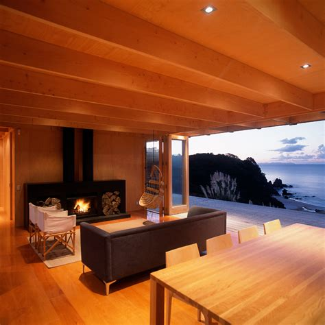 coromandel bach beach home coromandel bach beach house literally opens to the view