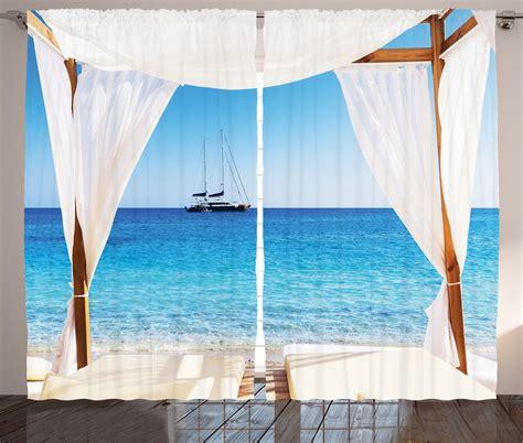 sea curtains balinese beach pavillion honeymoon natural spa restort sea