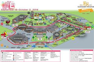 map big the big e 2016 map of the fairgrounds and guide on