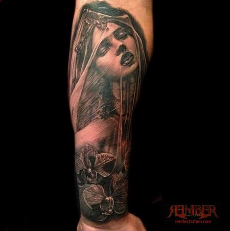 dark age tattoo veiled by rember age studio tattoos