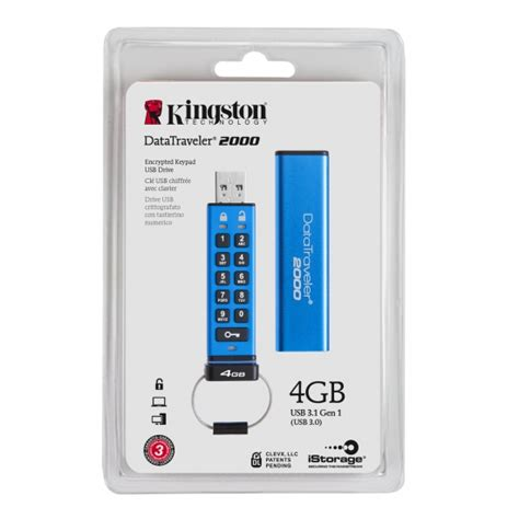 Usb Kingston 4gb kingston 4gb usb 3 1 datatraveler encrypted flash drive
