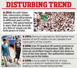 government puts 24 foreign 'hate channels' on notice for