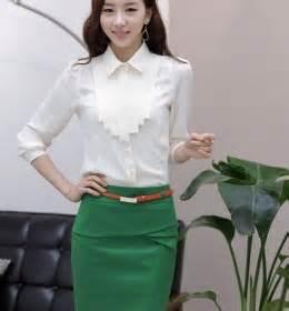 Baju Big Size Terbaru Blouse Hitam Renda jaket wanita model korea tebal modis model terbaru