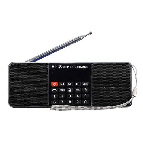 i am a bluetooth speaker and lava l too l 288 ambt bluetooth portable lcd fm am radio stereo
