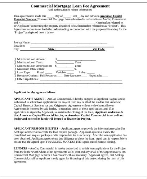mortgage loan agreement template 25 loan agreement templates free premium templates