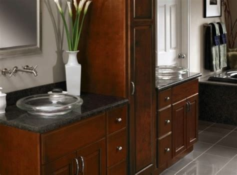 cherry cabinets bathroom 17 best images about bathroom vanity cabinets on pinterest shaker cabinets bathroom