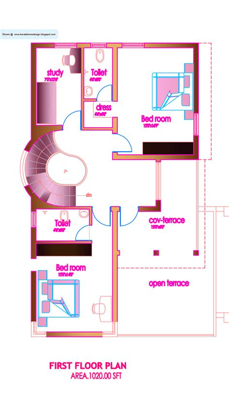 kerala style house designs and floor plans modern house plan 2320 sq ft kerala home design and