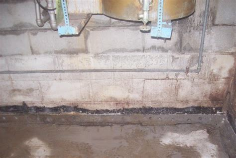 waterguard below floor drain installation