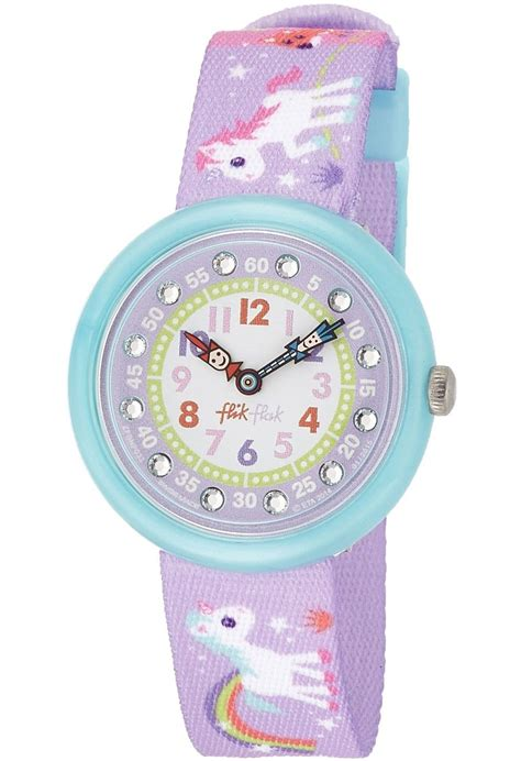 Montre Magical Unicorns FBNP033 Flik Flak Multi   Montres and Co