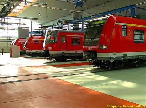 Werkstatt Frankfurt by Werkstatt S Bahn Frankfurt Bahnaktuell