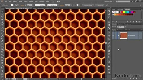 honeycomb pattern ai free illustrator tutorial creating a honeycomb pattern in