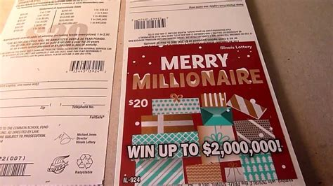 Which Instant Lottery Tickets Win - full pack of 30 scratchcards merry millionaire 20 instant lottery tickets 600