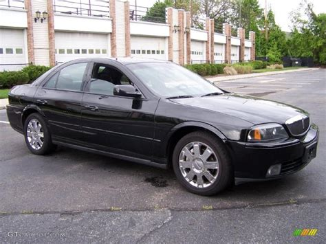 Black Ls by Black Clearcoat 2004 Lincoln Ls V8 Exterior Photo