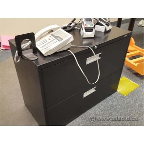 black 2 drawer lateral file cabinet hon black 2 drawer lateral file cabinet locking allsold