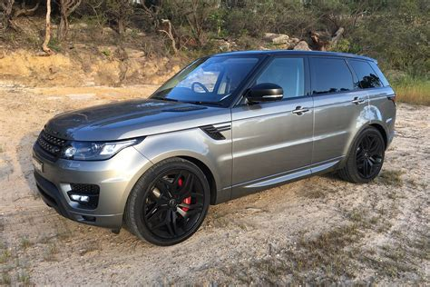 wheels land rover 2018 2018 range rover sport sdv8 hse dynamic review behind