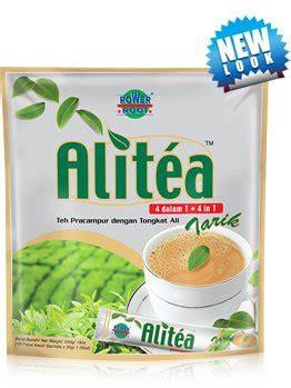 alitea premix tea drink with tongkat ali 4 in 1