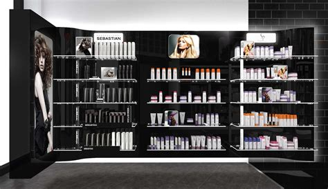 salon retail shelving pictures to pin on