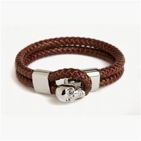 Bracelets Cuir Homme : Miansai, Fossil, Simon Carter, Paul Smith.