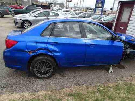 crashed subaru sell used 2013 subaru wrx salvage track car race car