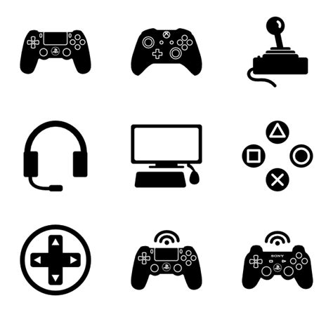 free download mod game vector game controller icons 1 827 free vector icons