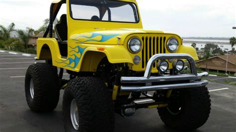 monster jeep cj 1966 custom jeep cj5 monster show truck