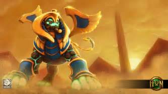 Flat Design war sphinx draconis wallpaper heroes of newerth lore