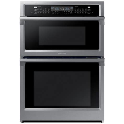 Samsung Microwave Oven samsung 30 in electric dual convection and steam cook