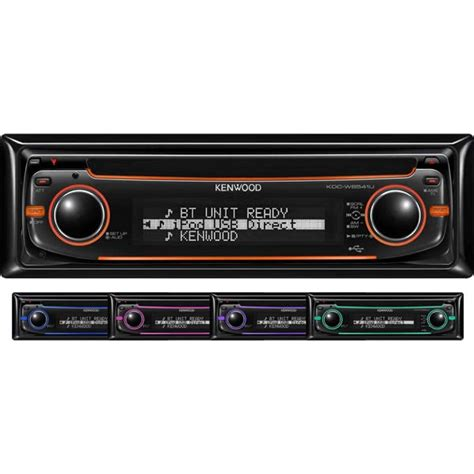 Kenwood Cd Mp3 Usb kenwood kdc w6541u cd mp3 usb player with aux input kdc w6541u from kenwood