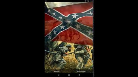 rebel flag wallpaper for android rebel flag live wallpaper