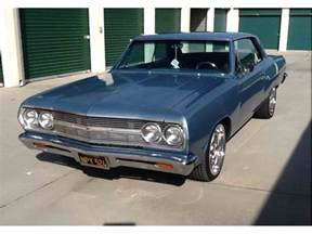 Used Classic Car For Sale Alberta 1965 Chevrolet Malibu For Sale Classiccars Cc 984955
