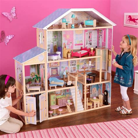 doll house play new kidkraft majestic mansion doll house large furniture