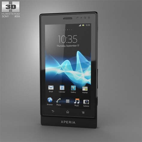 sony models sony xperia sola 3d model humster3d
