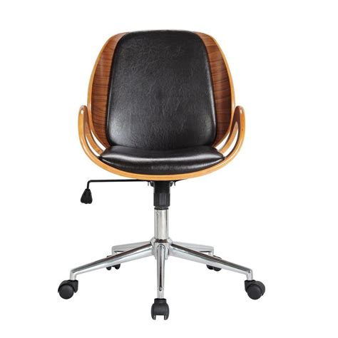 Office Chairs Home Depot Boraam Mira Black Office Chair 97911 The Home Depot