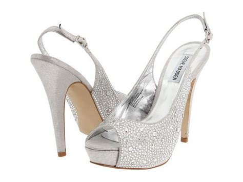 silver prom shoes for things i