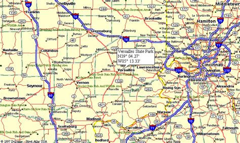 indiana state parks map map of indiana state parks pictures to pin on