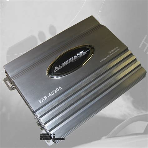 Audio Bank Ab 19 lifiers equalizers audiobank pab 4520a 4ch 2400w