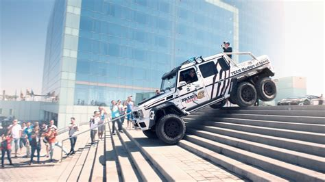G63 Amg Interior Brabus Mercedes G63 Amg 6x6 700 In The 2014 Gumball 3000
