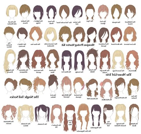 hairstyles and their names for long hair name of different hairstyles hairstyles by unixcode