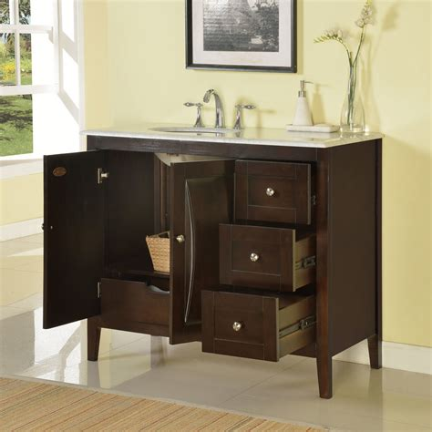 45 bathroom vanity cabinet silkroad exclusive 45 quot single sink cabinet bathroom vanity