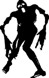 Sticker Cutting Terror Skull silhouettes silhouettes of free