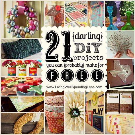 diy craft projects 21 diy projects you can make for free diy craft projects