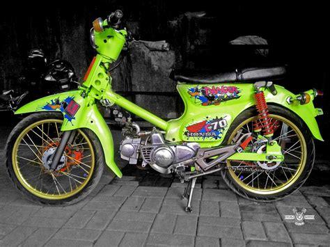 foto modifikasi motor honda  modifikasi yamah nmax