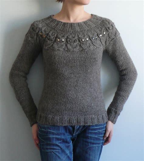 knitting pattern owl sweater need my owls sweater i ll make it myself pinterest