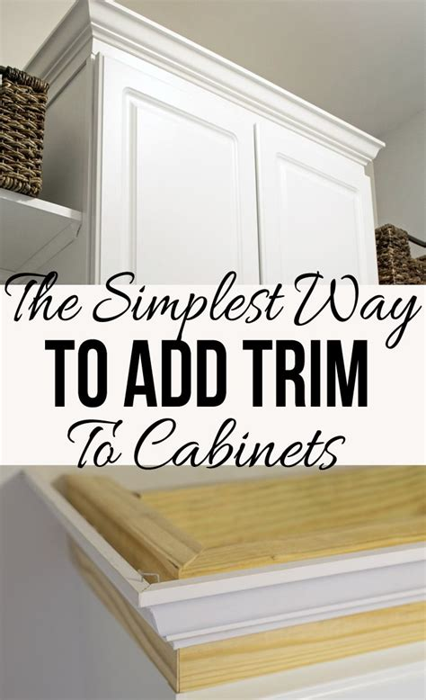 adding trim to kitchen cabinets 25 best ideas about crown molding kitchen on