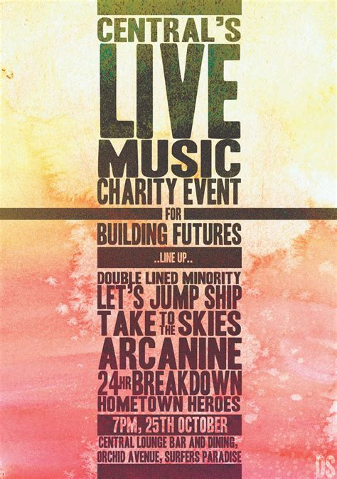 design poster for event design inspiration music fundraisers posters google