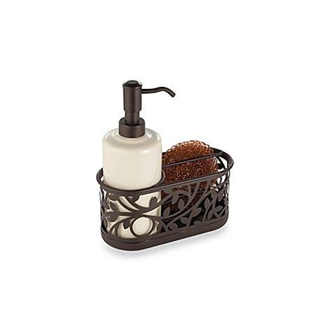 bronze sink soap dispenser buy interdesign 174 vine kitchen sink soap dispenser pump and