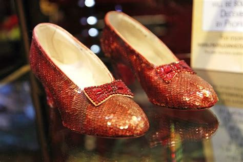 ruby slippers stolen there s a million dollar reward for dorothy s stolen ruby